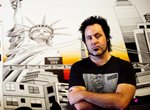 Muralist Andrew Spear carved out a career by doodling