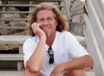 Ted White, a piano man on wheels who shares his music on a Florida boardwalk