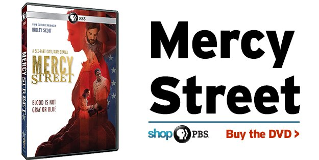 Shop PBS: Mercy Street (DVD)
