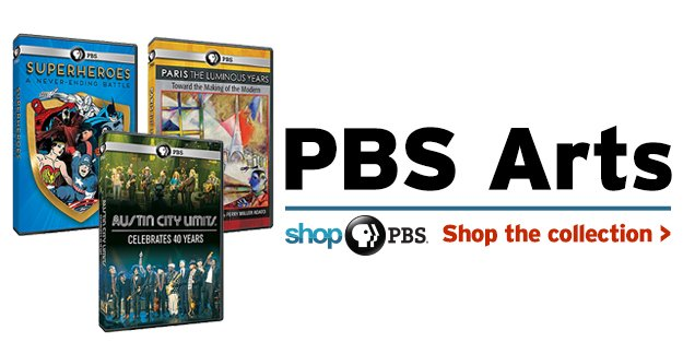Shop PBS Arts Collection