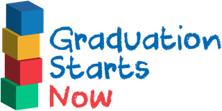Graduation Starts Now logo